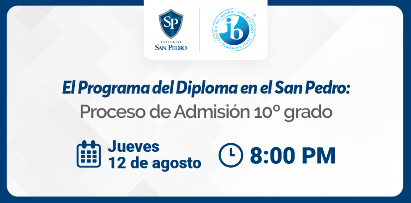 Charla VCSP IB - 12 de agosto - Colegio San Pedro